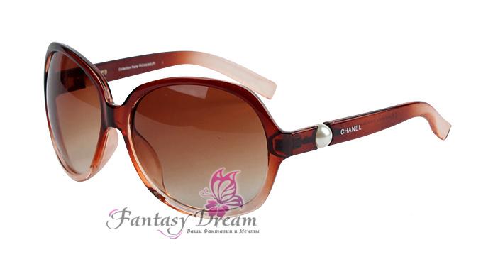 Очки солнечные Fantasy Dream коричневые в пластиковой оправе ... d45b2e341e2