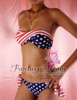 Купальник Fantasy Dream бикини американский флаг