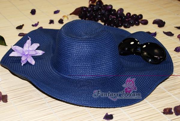 Пляжная шляпа Fantasy Dream синяя - Пляжная