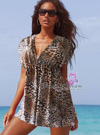Купить Тунику Платье Пляжное Платье